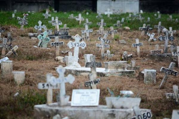 Número de mortes pela covid-19 no Brasil dobra a cada 5 dias