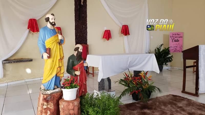 Imagens de São Pedro e São paulo