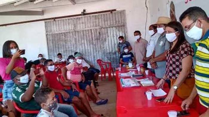 Denúncias de aglomerações em ato político na cidade de Boa Hora