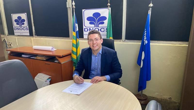 Tomou posse na última quarta feira (01) o novo coordenador estadual do DNOCS